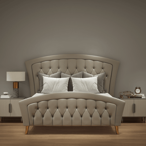 Luxury Modern Upholstered Bed