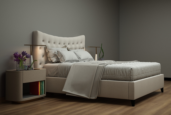 Crown Ottoman Upholstered Bed Frame