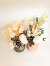 Load image into Gallery viewer, Dried Floral Arrangement - Pink Pot - Where The Green Things Are