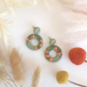 Gum Collection - Peach Gum Blossoms, Green donut and circle