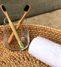 Load image into Gallery viewer, biodegradable bamboo toothbrush kids