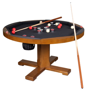 Game Room Furniture: City Series 3 in 1 Game Set, Bumper Pool (bumper pool, poker table, & dinner table) - Game Rooms Direct