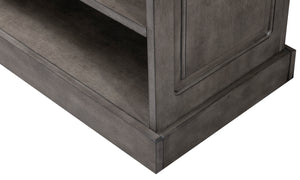 Game Room Furniture: City Series 72 Inch Bar Base, Stone - Game Rooms Direct