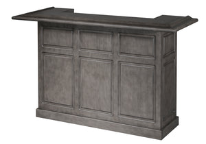 Game Room Furniture: City Series 72 Inch Bar, Stone - Game Rooms Direct