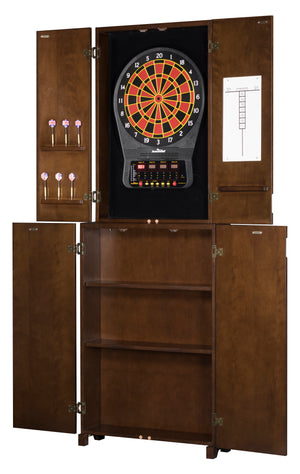 City Series Standup Dartboard Cabinet