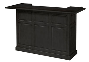 Game Room Furniture: City Series 72 Inch Bar, Carbon - Game Rooms Direct