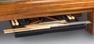 The Perfect Drawer for 7', 8' and 9' Billiard Tables
