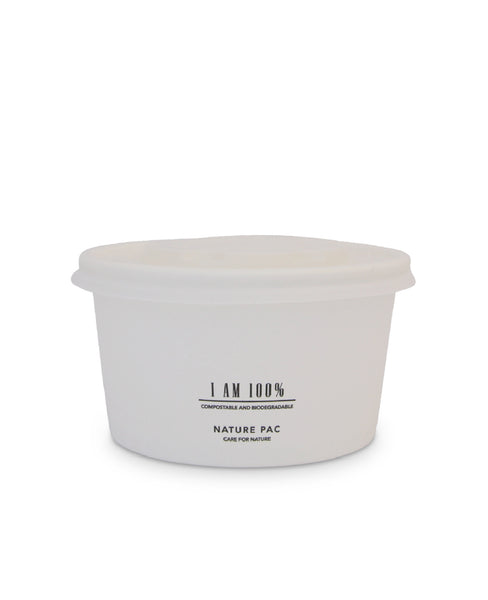 12oz (360ml) Paper Bowl - White - Nature Pac