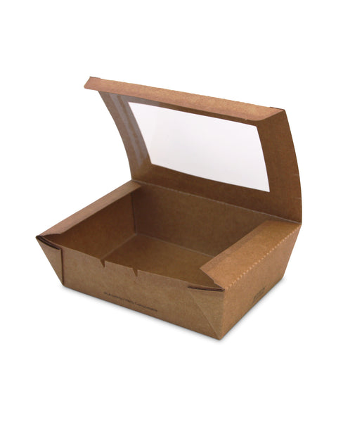 Medium PLA Window Lunch Box A - Nature Pac