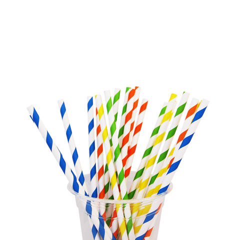 6mm Paper Straws - Nature Pac