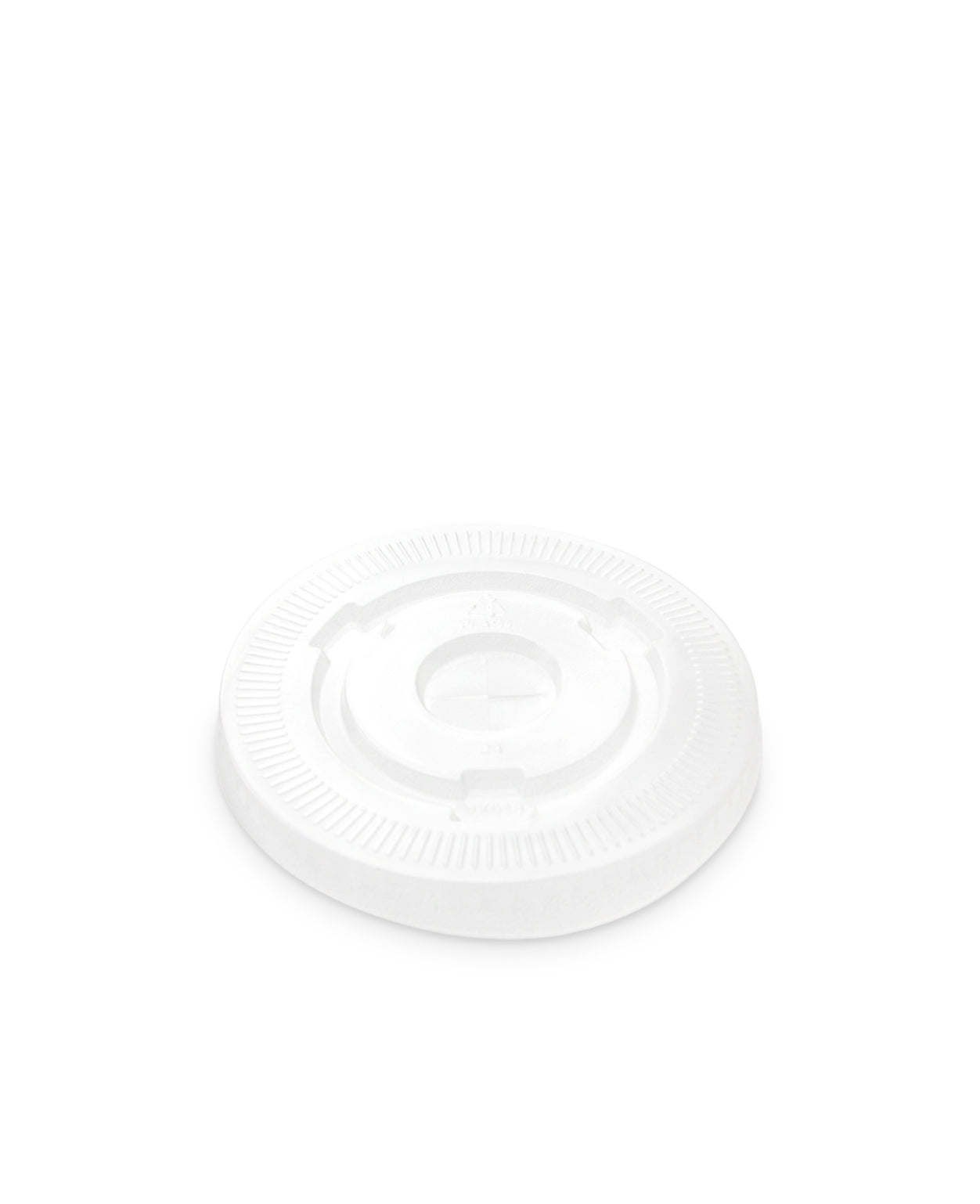 95mm PLA Flat Lid - Nature Pac
