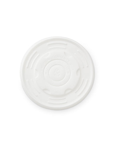 115mm CPLA Paper Bowl Lid - Nature Pac