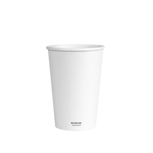12ozC PLA Cups (80mm) - White - Nature Pac