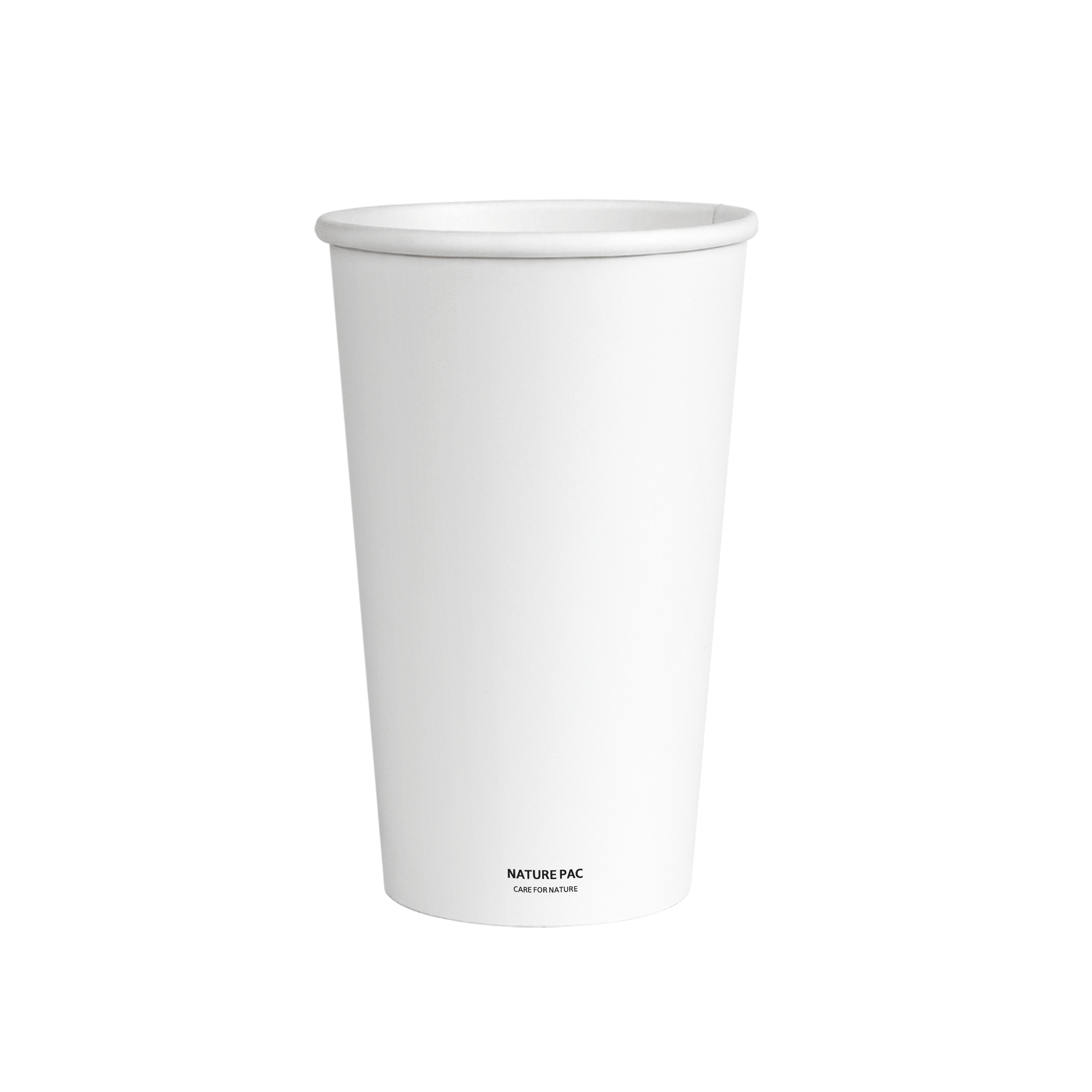 16oz PLA Cups (90mm) - White - Nature Pac