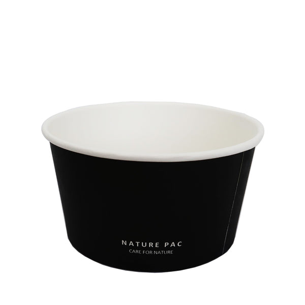 26oz (780ml) Paper Bowl - Black, Olive, Kraft - Nature Pac