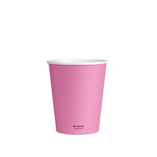 8oz PLA Cups (80mm) - Color - Nature Pac