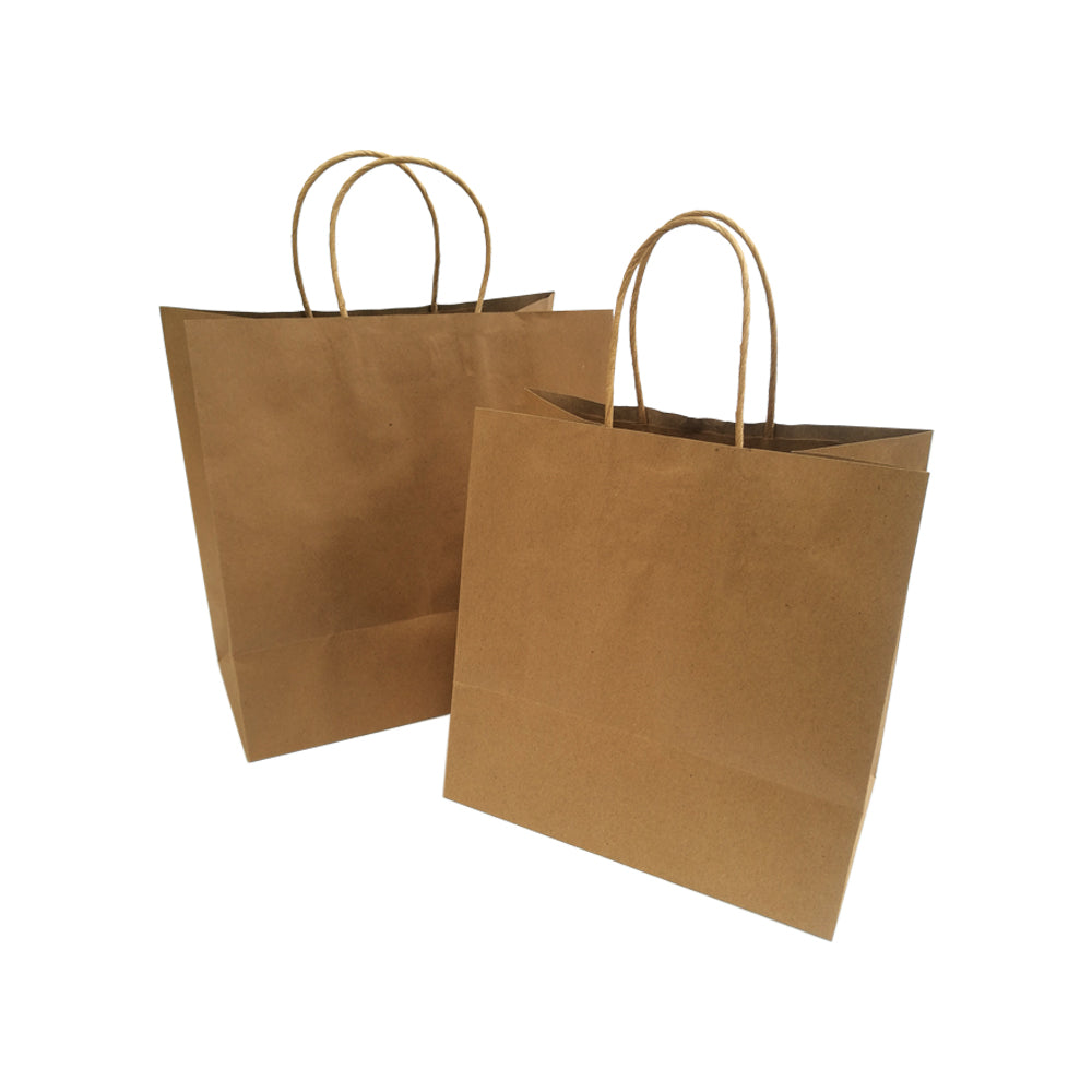 Twisted Handle Kraft Bag - M, L, XL - Nature Pac