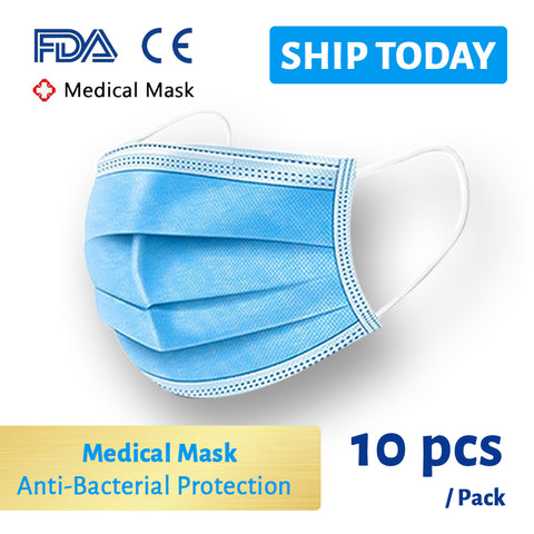 Medical Face Mask 10pcs Pack