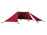 Abel 3 model 1 red rood speeltent