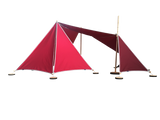 Abel 3 model 3 red rood speeltent