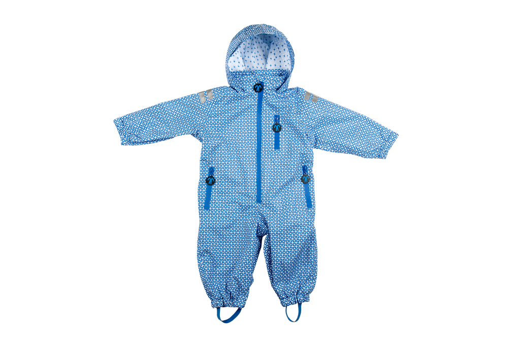 Ducksday The Original Rainsuit - Funky Blue