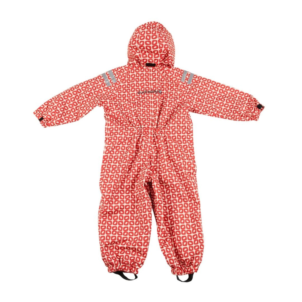 Ducksday The Original Rainsuit - Funky Red