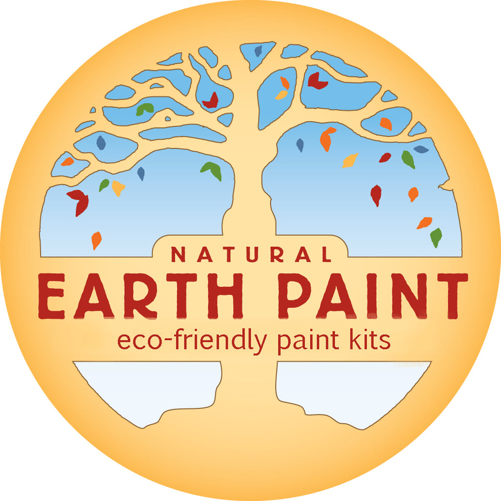 Children's Earth Paint (natuurlijke kinderverf) Kit Experience