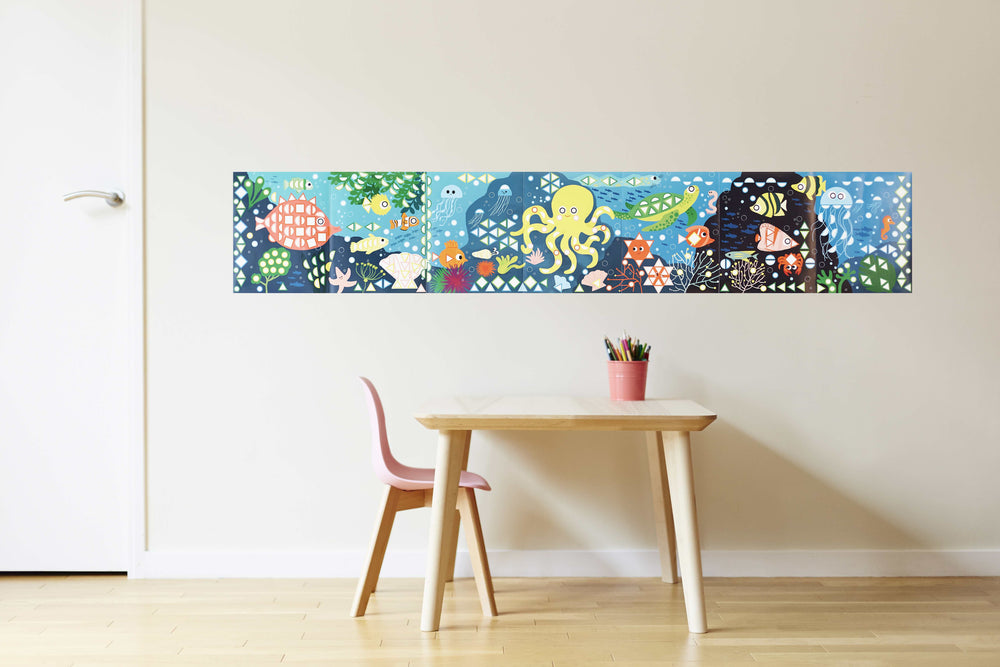 Poppik stickerposter Aquarium