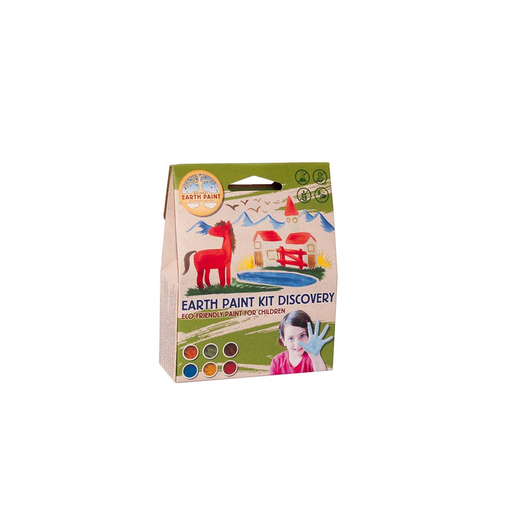 Children's Earth Paint (natuurlijke kinderverf) Kit Discovery