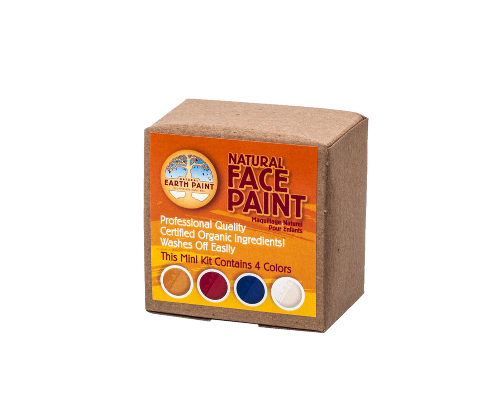 Natural Face Paint Kit - 4 kleuren