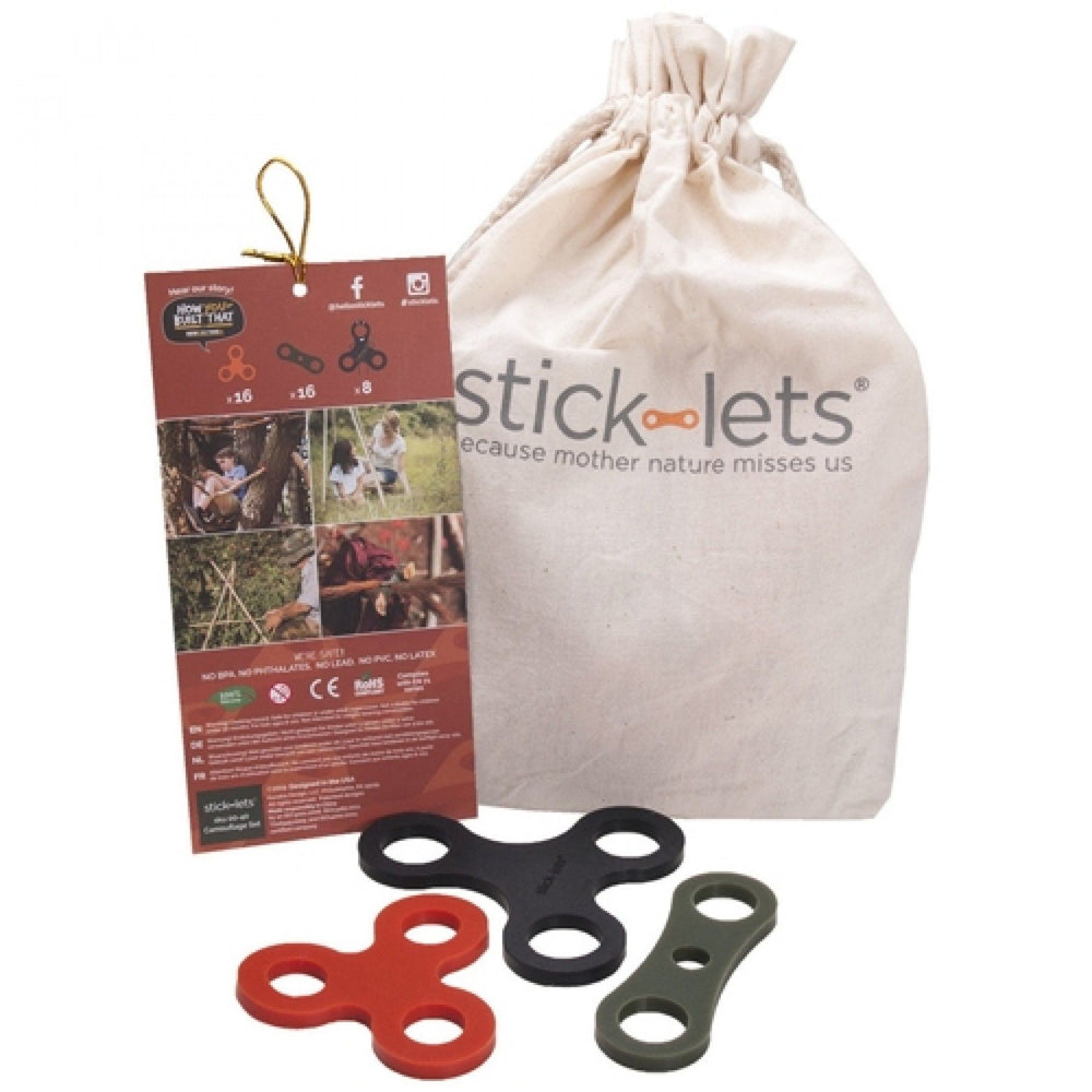 Stick-lets Camouflage set 40 stick-lets (schoolset)
