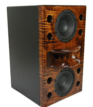 Load image into Gallery viewer, close up of the duo-8 wooden effect single speaker.