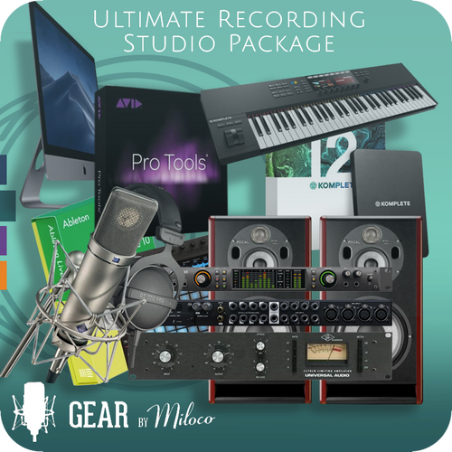 Ultimate Recording Studio Package