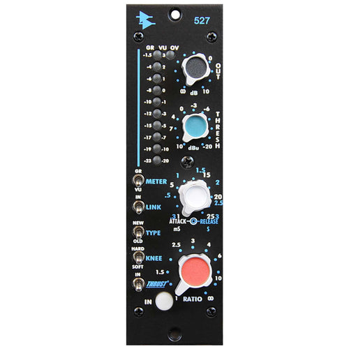 API 527 Compressor Limiter Module Front View