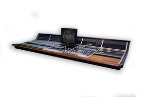 Audient ASP8024 Heritage Edition 24-Channel Console front view.