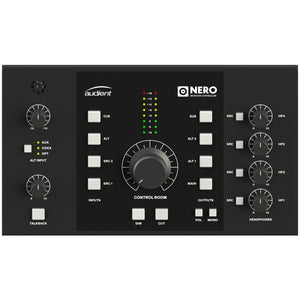 Audient Nero Monitor Controller top view.