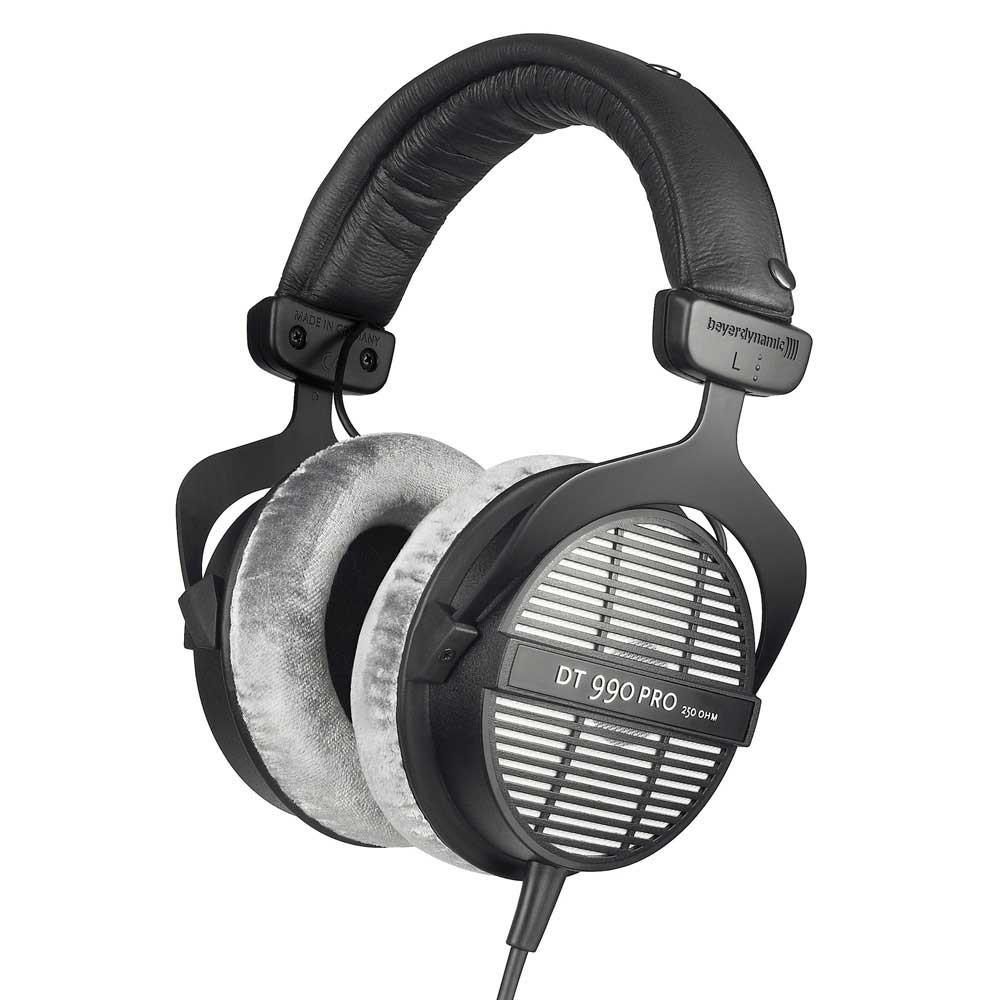 Black & Grey Beyerdynamic DT990 Pro Studio Headphones