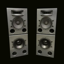 Load image into Gallery viewer, Grey Augspurger Solo-12 MF Speaker system.