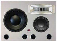 Load image into Gallery viewer, White Augspurger Treo 812 Speaker close-up.