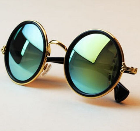 CIRCLE RETRO SUNGLASSES