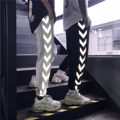 REFLECTIVE PANTS MEN