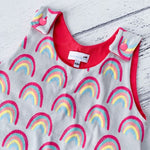 Bright Rainbow Harem Romper