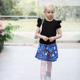 Blue Scandi Skirt