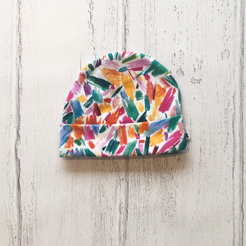 Paint strokes Baby Hat