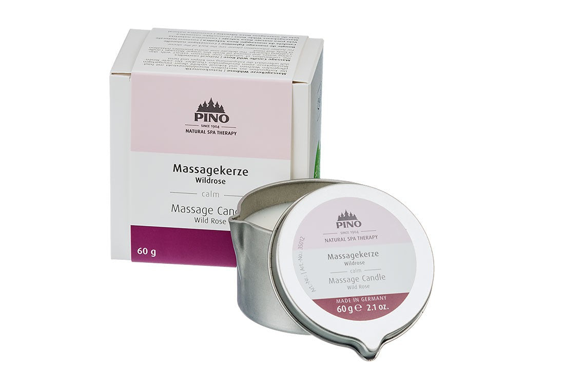 Massage Candle Wild Rose
