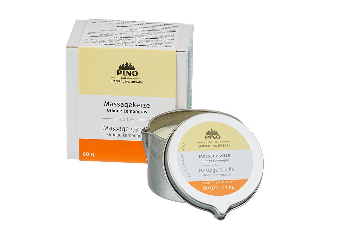 Massage Candle Orange Lemongrass