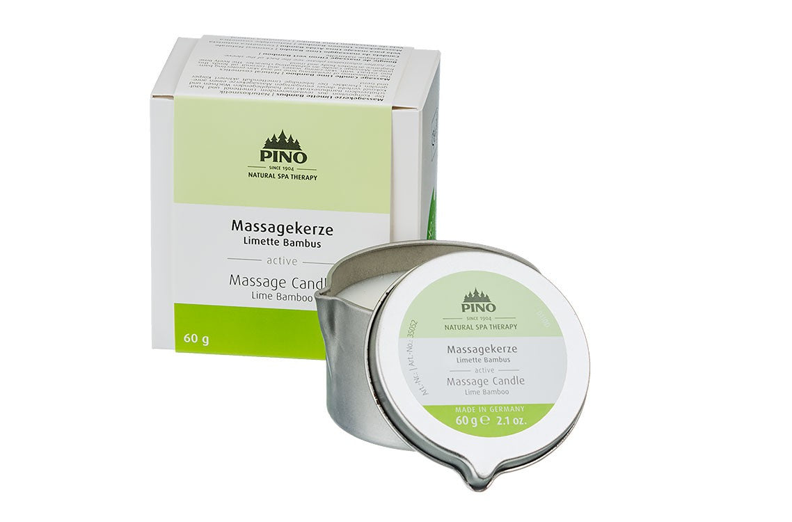 Massage Candle Lime Bamboo