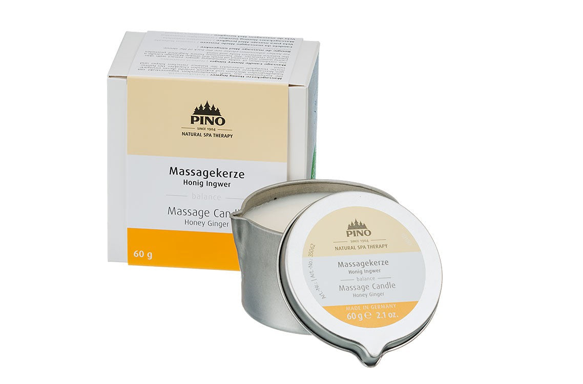 Massage Candle Honey Ginger