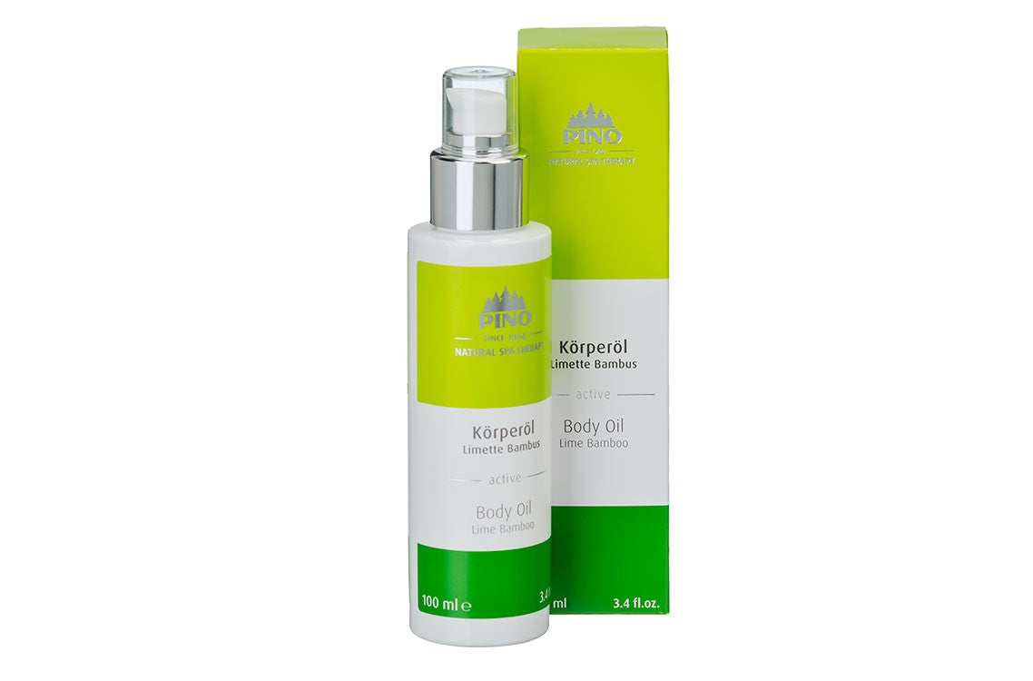 Body Oil Lime Bamboo