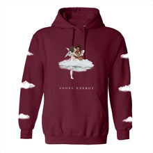 Load image into Gallery viewer, NAT & LIV Cherubs Hoodie - MAROON